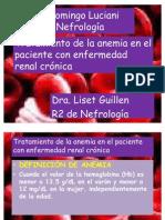 Anemia Cronica en HD Lis 2011