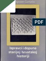 Gunjaca Ispravci i Dopune Starijoj Hrvatskoj Historiji Knj.2