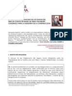 IMSS Ilegalidad Costo Mano de Obra