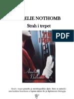 Amelie Nothomb-Strah i Trepet