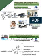 Cenário das queijeiras visitadas da região - Pombal, Paulista e São Bentinho