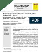 Analgesia Cadera