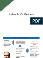 México Contemporáneo. La Revolución I