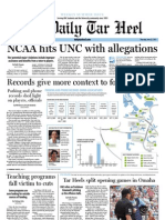 The Daily Tar Heel for June 23, 2011