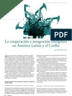 El contexto político de la cooperación e integración energética en...