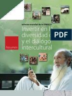 Invertir en la diversidad cultural y el diálogo Intercultural