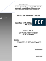 REPARATIONN DES SYSTEMES D'INJECTION DIESEL