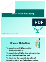 Financing Short Term