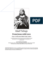 From Jesus With Love - Glad Tidings - Bible Study Guides - PDF