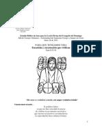 Estudio Lectio Divina Evangelio Domingo 26-Junio-2011