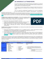 REACCIÓNES  ADVERSAS A LA TRANSFUSIÓN 97-2003