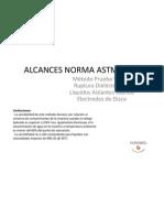 Alcances Norma Astm d877