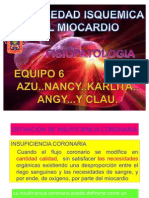 Enfermedad Isquemica Del Miocardio