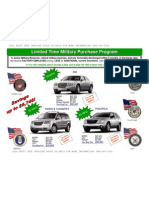 Military EP Pricing Chrysler