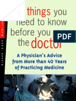 10 Things Before See Doctor