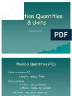 Radiation Quantities & Units