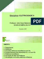 eletricidade II aula 11-02-2011