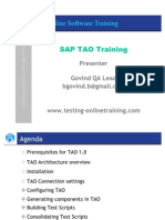 SAP TAO 2.0 Live