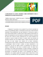 Amaral, Anelize Queiroz; et al. A implantação de horta organica como instrumento para a formação de alunos participativos.