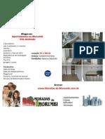 Apartamento para Locação no Morumbi 2dorms 2autos 65m2 c/ Armários / Aluga-se