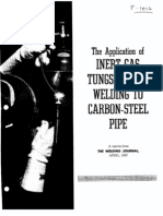 Gtaw Carbon Steel Pipe F-1016