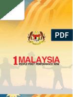 1Malaysia English