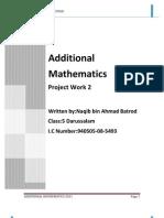 Folio Add Math 2011-Sekadar Rujukan