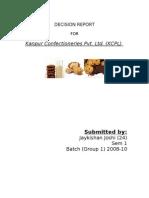 Kanpur Confectioneries Pvt Ltd