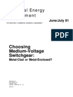 Choosing Medium Voltage Swgr