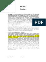 PL SQL Exercise6