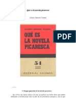 Qué es la novela picaresca