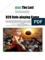 Avatar the Last Airbender D20