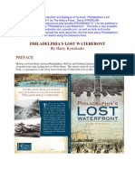 Philadelphia's Lost Waterfront--Preface, Intro and Epilogue