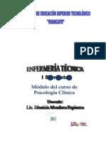 MODULO DE PSICOLOGÍA CLINICA