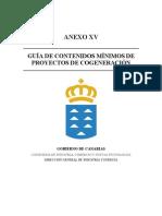 Guia de Contenidos Minimos de Proyectos de Cogeneracion