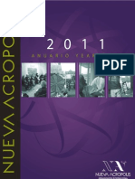 2011 Yearbook New Acropolis