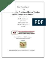 Microsoft Word - Power Trading
