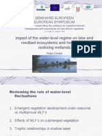 Impact of the water-level regime on lake and reedbed ecosystems and how it helps restoring wetlands