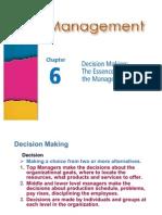 managament Chapter 6