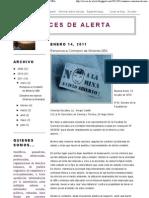 Voces de Alerta_ Renuncia a Comisión de Minería-UBA