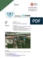Einladung Retraite 2011
