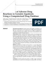 Identification of Adverse Drug