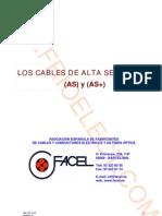 Los Cables de Alta Seguridad (as) y (as+)