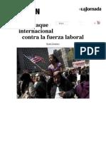 El Ataque Internacional Contra La Fuerza Laboral