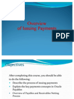 R12 Overview of Issuing Payments