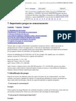 Manual sobre a prevenção de perdas pós-colheita de grãos - as pragas de armazenagem importantes