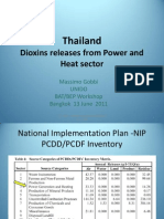 Thailand-Dioxins Reduction on Power and Heat Sectors