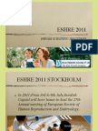 Stockholm 2011 - European Society of Human Reproduction and Embryology