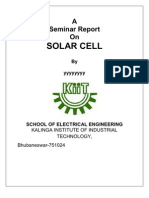 Solar Cell Report
