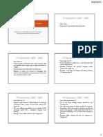 Evolution of OS